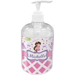 Princess & Diamond Print Soap / Lotion Dispenser (Personalized)