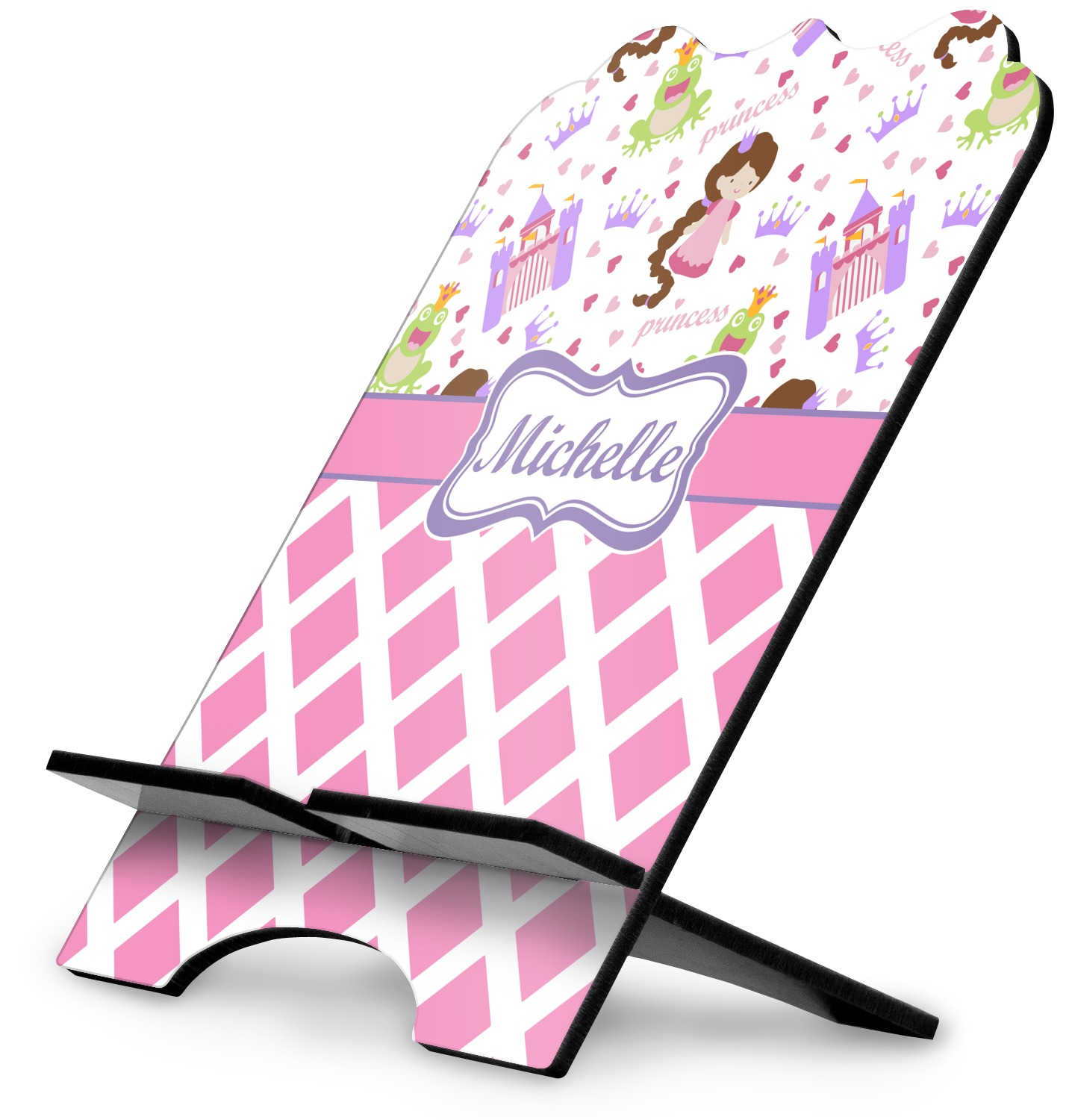 YouCustomizeIt Leopard Print Stylized Tablet Stand Personalized