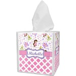 Princess & Diamond Print Tissue Box Cover (Personalized)