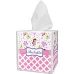 Princess & Diamond Print Tissue Box Cover (Personalized)