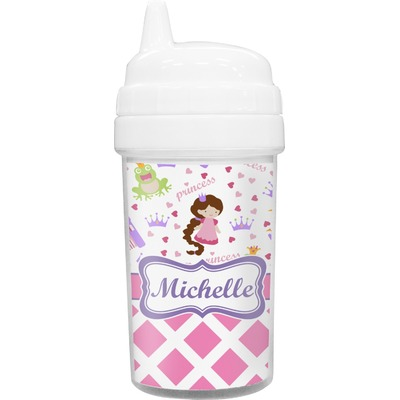 Princess & Diamond Print Sippy Cup (Personalized)