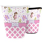 Princess & Diamond Print Waste Basket (Personalized)