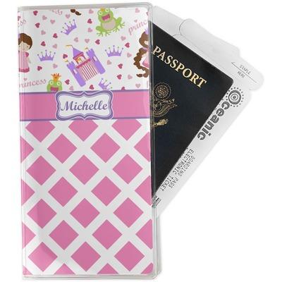 Princess & Diamond Print Travel Document Holder