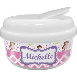 Princess & Diamond Print Snack Container (Personalized)