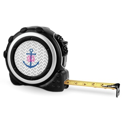 Monogram Anchor Tape Measure - 16 Ft (Personalized)