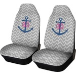 Monogram Anchor Car Seat Covers (Set of Two) (Personalized)