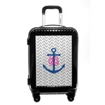Monogram Anchor Carry On Hard Shell Suitcase (Personalized)