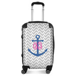 Monogram Anchor Suitcase (Personalized)