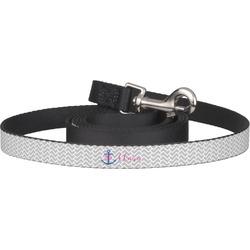 Monogram Anchor Dog Leash