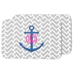 Monogram Anchor Dish Drying Mat (Personalized)