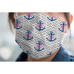 Monogram Anchor Face Mask Cover (Personalized)