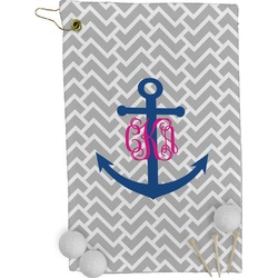 Monogram Anchor Golf Towel - Full Print (Personalized)