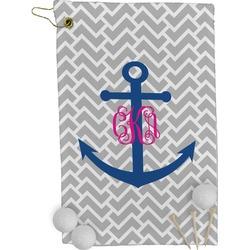 Monogram Anchor Golf Towel - Full Print (Personalized)