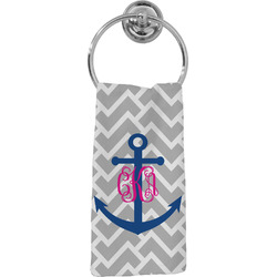 Monogram Anchor Hand Towel - Full Print (Personalized)