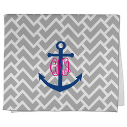 Monogram Anchor Kitchen Towel - Full Print (Personalized)