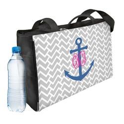 Monogram Anchor Ladies Workout Bag (Personalized)