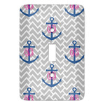Monogram Anchor Light Switch Covers (Personalized)