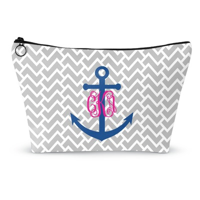 Monogram Anchor Makeup Bags (Personalized)