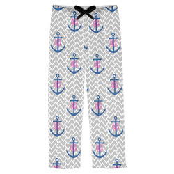 Monogram Anchor Mens Pajama Pants (Personalized)