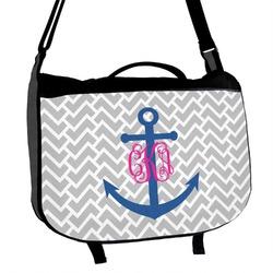 Monogram Anchor Messenger Bag (Personalized)