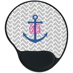 Monogram Anchor Mouse Pad with Wrist Support