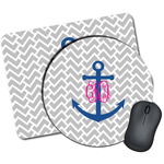 Monogram Anchor Mouse Pads (Personalized)