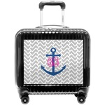 Monogram Anchor Pilot / Flight Suitcase (Personalized)