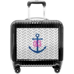 Monogram Anchor Pilot / Flight Suitcase (Personalized)