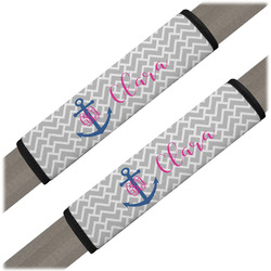 Monogram Anchor Seat Belt Covers (Set of 2) (Personalized)