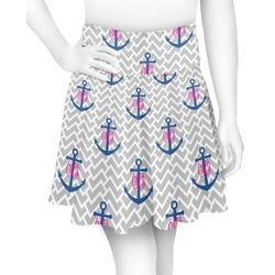 Monogram Anchor Skater Skirt (Personalized)