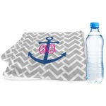 Monogram Anchor Sports & Fitness Towel (Personalized)