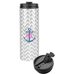 Monogram Anchor Stainless Steel Tumbler (Personalized)