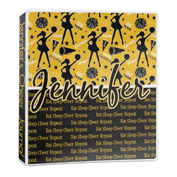 Cheer 3-Ring Binder - 1 inch (Personalized)