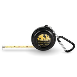 Cheer Pocket Tape Measure - 6 Ft w/ Carabiner Clip (Personalized)