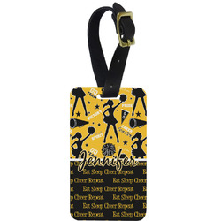 Cheer Aluminum Luggage Tag (Personalized)