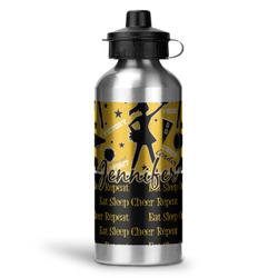 Cheer Water Bottle - Aluminum - 20 oz (Personalized)