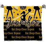 Cheer Full Print Bath Towel (Personalized)