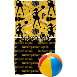 Cheer Beach Towel (Personalized)