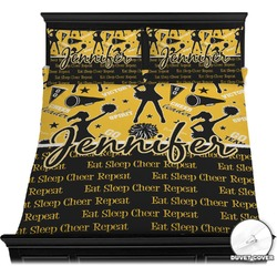 Cheer Duvet Cover Set (Personalized)