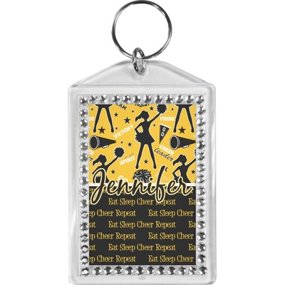 Cheer Bling Keychain (Personalized)
