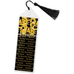 Cheer Book Mark w/Tassel (Personalized)