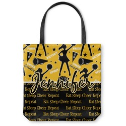 Cheer Canvas Tote Bag (Personalized)