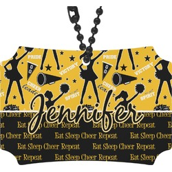 Cheer Rear View Mirror Ornament (Personalized)