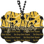 Cheer Rear View Mirror Decor (Personalized)