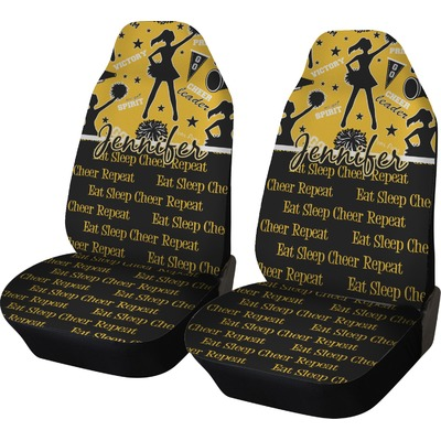 Cheer Car Seat Covers (Set of Two) (Personalized)