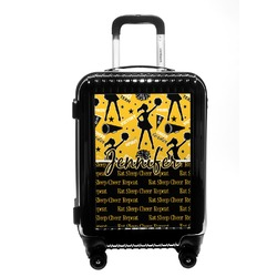 Cheer Carry On Hard Shell Suitcase (Personalized)