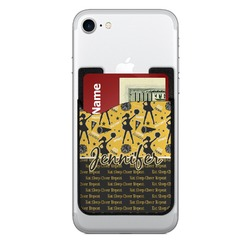 Cheer Cell Phone Credit Card Holder (Personalized)