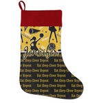 Cheer Holiday Stocking w/ Name or Text