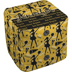 Cheer Cube Pouf Ottoman (Personalized)
