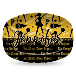 Cheer Plastic Platter - Microwave & Oven Safe Composite Polymer (Personalized)